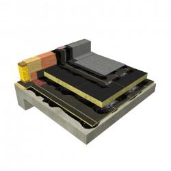 Conventional , Hot bitumen SEBS/oxidized , Concrete