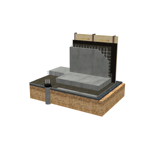 Colphene BSW - Under water table - High hydrostatic pressure