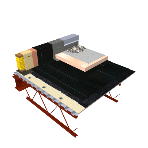SOPRA-XPS Inverted Roof System (PMR)