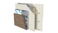 Sopra-Cellulose- mur hybride- colombage de bois