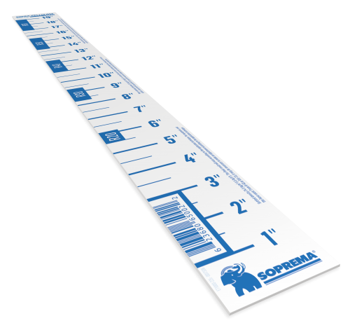 SOPRA-CELLULOSE RULER