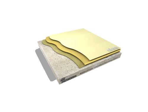 Polyurethane self leveling system