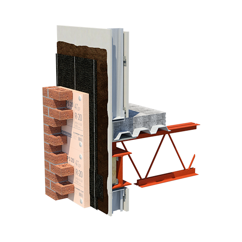 EXTERIOR INSULATED STEEL 60 FF XPS 20