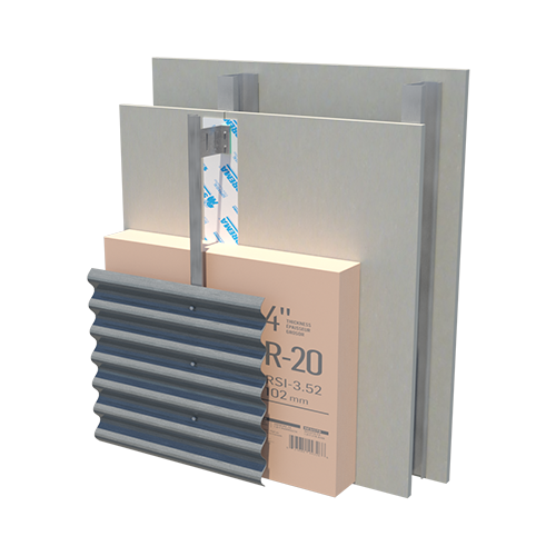 EXTERIOR INSULATED STEEL FLASHPRO XPS 20