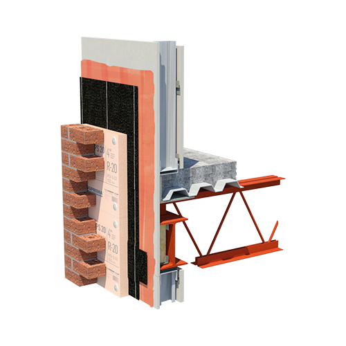EXTERIOR INSULATED STEEL STICK 130 XPS 20