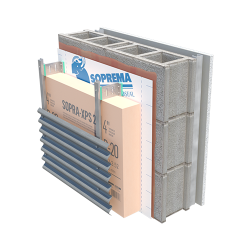 EXTERIOR INSULATED CONCRETE STICK 1100 T XPS 20