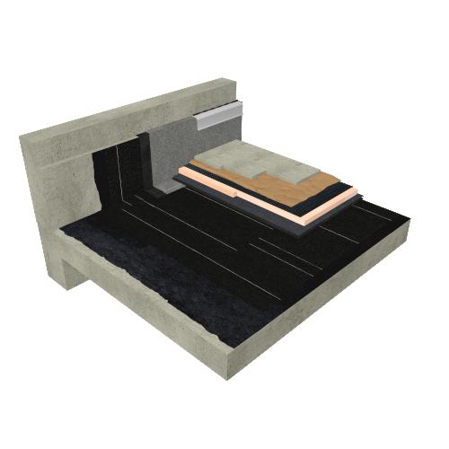 SOPRA-XPS Toit-terrasse