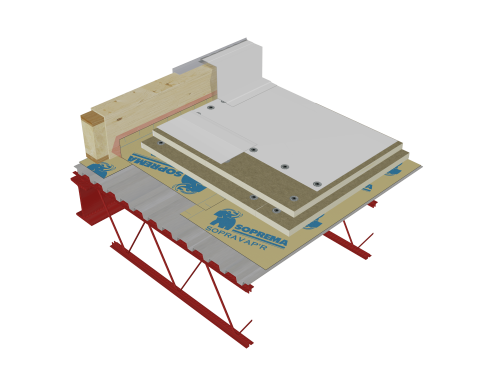 PVC roof - Mechanically fastened